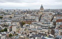 Lucht mening van Parijs, Frankrijk royalty-vrije stock foto