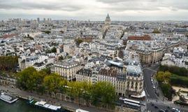 Lucht mening van Parijs, Frankrijk stock fotografie