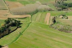 Het platteland van Toscanië Stock Foto's