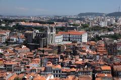 Lucht mening van Porto, Portugal Stock Foto's