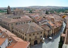 Lucht mening van Salamanca Royalty-vrije Stock Foto's