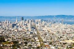 Lucht mening van San Francisco Stock Foto