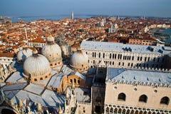 Lucht mening van Venetië Royalty-vrije Stock Afbeeldingen