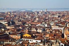 Lucht mening van Venetië Royalty-vrije Stock Foto's