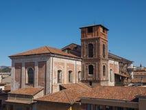 Lucht mening van Verona stock afbeeldingen