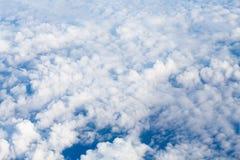 Lucht Mening van Vliegtuig Stock Foto