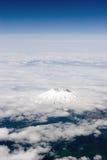 Lucht mening van vulkaan stock foto