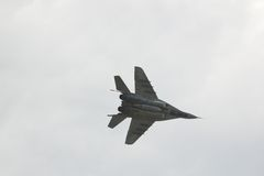 In lucht-mig 29 Royalty-vrije Stock Foto