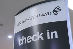 Lucht Nieuw Zeeland Stock Foto's