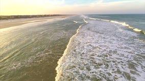 Lucht oceaanlengte stock footage