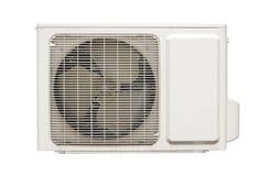 Lucht openlucht conditionerende compressor royalty-vrije stock afbeelding