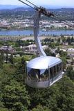Lucht tram, Portland OF. Royalty-vrije Stock Afbeeldingen
