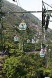 Lucht tramspoor Stock Fotografie