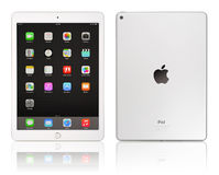 Lucht 2 van Apple iPad Stock Foto's