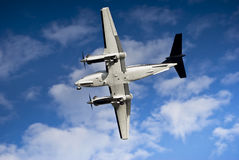 Lucht van de Koning van Beechcraft B200 de Super Stock Fotografie
