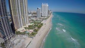 Lucht videosunny isles beach FL stock videobeelden