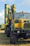 Luchtafweer defensiesysteem s-300 de lanceerinrichting van de Raket Royalty-vrije Stock Foto