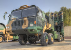 Luchtafweerdefensiesysteem royalty-vrije stock foto
