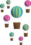 Luchtballons stock afbeeldingen