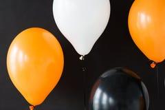 Luchtballons voor de partij van Halloween of van de verjaardag Royalty-vrije Stock Afbeeldingen