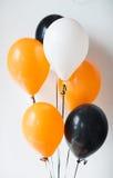 Luchtballons voor de partij van Halloween of van de verjaardag Royalty-vrije Stock Fotografie