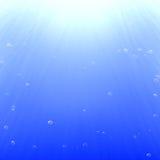 Luchtbellen stock illustratie