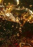 Luchtbellen in water Royalty-vrije Stock Afbeelding