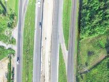 Luchtbouw van wegi10 viaduct 10 Tusen staten Royalty-vrije Stock Foto's