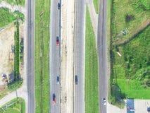 Luchtbouw van wegi10 viaduct 10 Tusen staten Stock Afbeelding