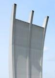 Luchtbrugmonument Frankfurt Royalty-vrije Stock Foto's