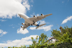 Luchtbus A380 Stock Foto's