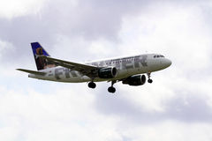 Luchtbus A319-112 Stock Afbeelding