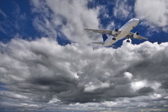 Luchtbus Stock Fotografie