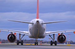 Luchtbus A319 stock afbeeldingen