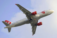 Luchtbus A320 Royalty-vrije Stock Afbeelding