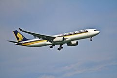 Luchtbus A330-300 Stock Foto's