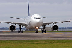Luchtbus A330 stock fotografie