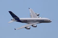 Luchtbus A380 Royalty-vrije Stock Foto