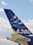 Luchtbus A380 Stock Fotografie