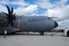 Luchtbus A400M royalty-vrije stock afbeelding