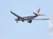 Luchtbus A330-243 Air China Stock Foto