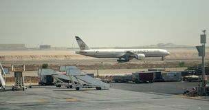 Luchtbus A330-243 Etihad Stock Afbeelding