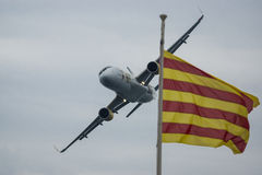 Luchtbus 320 Vueling Stock Foto