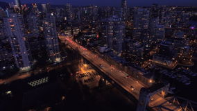 Luchtcanada Vancouver BC stock footage