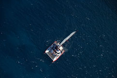 Luchtcatamaran stock afbeelding