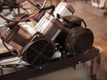 Luchtcompressor stock fotografie
