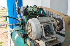 Luchtcompressor stock afbeelding