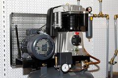 Luchtcompressor royalty-vrije stock afbeelding