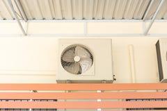 Luchtcompressor HVAC Royalty-vrije Stock Afbeelding