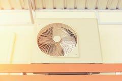 Luchtcompressor HVAC Stock Foto